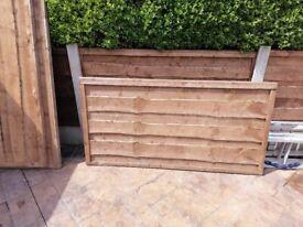 Wanylap fence panels