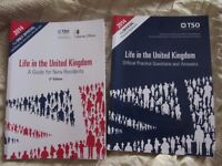 Life in the UK guide book and practice questions and answers book