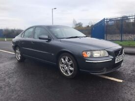 volvo s60 s t automatic 2.0 petrol 1 years mot 2005 plate