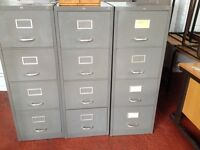 Old 4 Draw Filing Cabinets - reduced