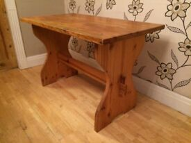 TRADITIONAL CHUNKY PINE REFECTORY TABLE