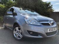 Vauxhall Zafira 7 Seater 2010 Full Years Mot No Advisorys Full Service History Cheap To Insure !!