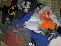 Large Boys bundle 3-4 years jumpers jackets jeans jogging bottoms tshirts next dkny diesel