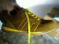 Mens steel toe cap working shoes