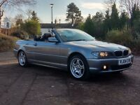 BMW 318 Ci SE CONVERTIBLE 2004 '04' 1 YEARS MOT, S/HISTORY, MET GREY, LEATHER, ALLOYS, MUST SEE!!!