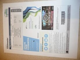 2 Seated Tickets for Black Sabbath, The Final Tour, SSE Hydro Glasgow, Jan 24th 2017