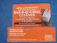 100% Pumice Stone Cleaner for Charcoal, Gas and electric Grills.