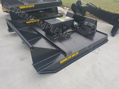 "72"" Skid Steer Rotary Brush Cutter / Bush Hog attachment Reg Low Flow-$229 Ship"