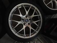 Brand new in box 18inch BMW alloys