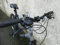 Trek mountain bike for men or ladies. Very Good condition. Always kept at home. Front suspension.