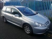 Peugeot 307 estate diesel require clutch