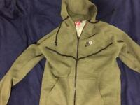 Nike tracksuit size S green