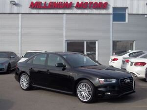 2015 Audi A4 2.0T QUATTRO / S-LINE PKG / LEATHER / SUNROOF