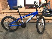 """Saracen Rufftrax Kids Mountain Bike (20"""" Wheel Size)"""