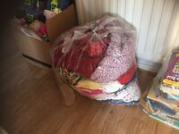 Girls clothes, books, toys car boot job lot