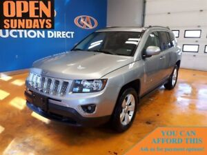 2016 Jeep Compass LEATHER! SUNROOF! 4X4! FINANCE NOW!