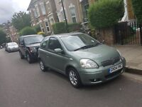 Toyota Yaris (quick sale- flat battery as rarely used!)