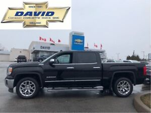 2014 GMC Sierra 1500 SLT CREW 4WD, LEATHER, DVD, NAVIGATION