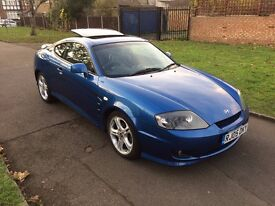 Hyundai Coupe 2.0 SE 3dr, LEATHER, 6 MONTHS FREE WARRANTY, FULL SERVICE HISTORY