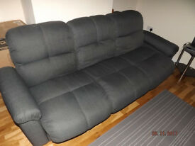Leader Lifestyle 3 seats sofa bed in grey colour.