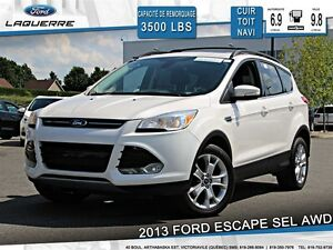 2013 Ford Escape SEL**AWD*CUIR*TOIT*NAVI*CRUISE*A/C**