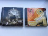 KoRn 2 CD's excellent condition