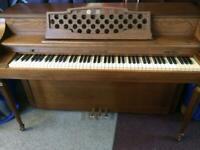 Stylish upright piano