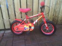 CHILDS BIKE FOR SALE, BARGAIN PRICE.