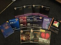 GCSE revision & coursework books