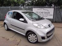 2009 Peugeot 107Urban 1L. LOW 52K MILEAGE CAR. CHEAP ON TAX (£30) AND FUEL