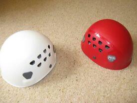 Petzl climbing helmets