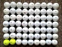 63 NIKE golf balls in very good condition