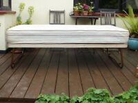 Airsprung Single Guest Bed with folding legs