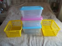 Storage Baskets and Boxes