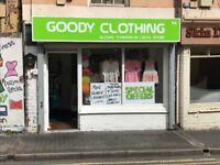 Clothing Shop Lease for Sale, Menswear, Ladies wear, Childrenwear Clothing shop near Walsall ASDA