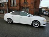 Audi A4 SLine TDI RARE WHITE auto CVT