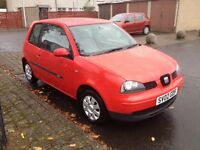 Seat Arosa, 1000cc, Mot late april 2017.