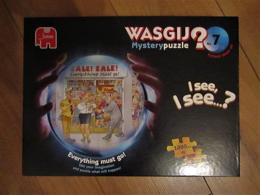 Wasgij Everything Must Gojigsaw puzzle