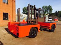 Jumbo 6000KG Sideloader Forklift Truck - Extending Forks