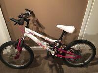 """Girls 20"""" apollo charm mountain bike"""
