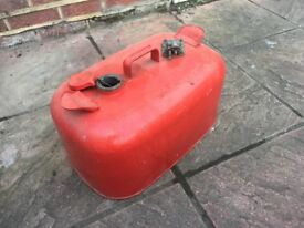 Fuel tank 25 litre with fuel guage metal