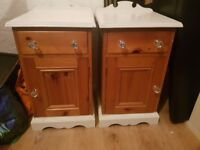 Pair of bed side tables!! £40