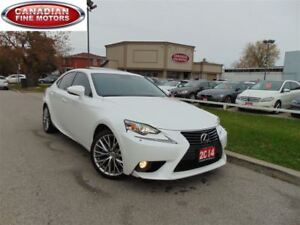 2014 Lexus IS 250 CLEAN CAR PROOF-LEATHER ROOF-CAM