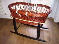 Kinder Valley moses basket rocking stand - Brown