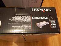 LEXMARK - toner cartridge C500H2KG