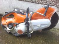 STIHL TS410 petrol saw used