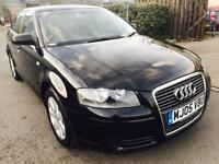 Audi A3, 1.9 Tdi Sportback,2005,Diesel,S.History,Mot,Manual, Excellent Runner.3Months Warranty