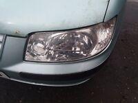 Hyundai Matrix passenger front head lamp from 2002-5