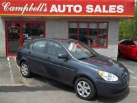 2010 Hyundai Accent GAS SAVER!! AIR CONDITIONING!! NEWLY INSPECT
