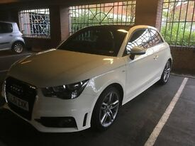 Audi A1 S Line, 1.4, 3d, Sat Nav, Black Panoramic Roof, rear people parking sensors, S Tronic